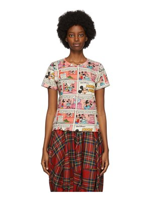 Comme des Garcons Girl multicolor disney edition comic t-shirt
