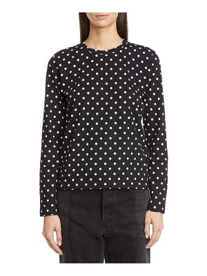 Comme Des Garcons long sleeve cotton t-shirt