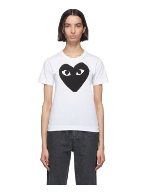 Comme Des Garcons PLAY and black big heart t-shirt