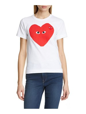 Comme Des Garcons play big heart tee