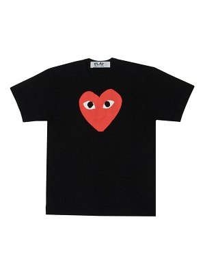 Comme Des Garcons PLAY large heart graphic t-shirt