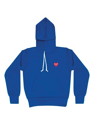 Comme Des Garcons PLAY play hooded sweatshirt