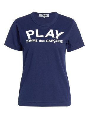 Comme Des Garcons PLAY play logo t-shirt