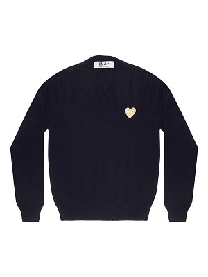 Comme Des Garcons PLAY play v-neck heart sweatshirt