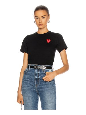 Comme Des Garcons PLAY tee shirt