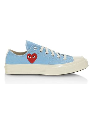 Comme Des Garcons PLAY x converse chuck taylor all star canvas low-top sneakers