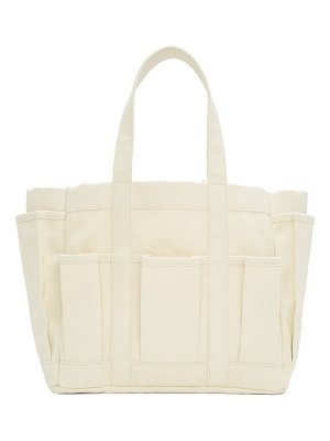 Comme des Garcons Shirt off-white tool bag tote
