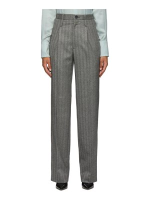 Commission gbone double waisted trousers