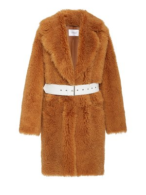 Common Leisure dream spring belted wool coat