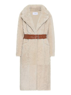 Common Leisure love fire shearling coat