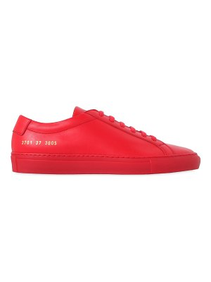 Common Projects 20mm original achilles leather sneakers