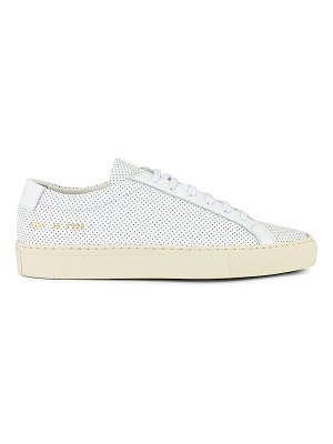 Common Projects achilles low perforated sneaker