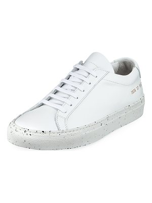 Common Projects Achilles Low-Top Confetti Sneaker