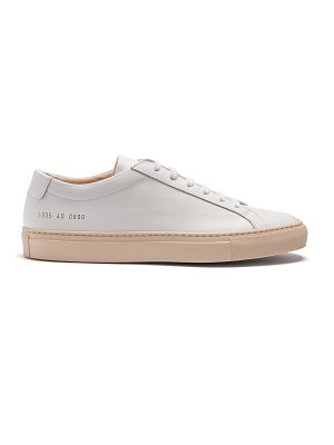 Common Projects Achilles low-top leather trainers