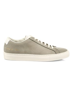 Common Projects achilles nubuck low-top sneakers
