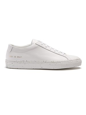 Common Projects Achilles speckled low-top leather trainers