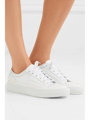 Common Projects achilles super leather and canvas sneakers