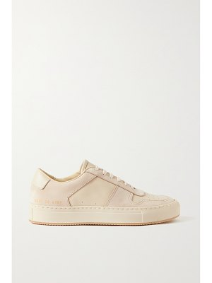 Common Projects bball perforated leather and suede sneakers