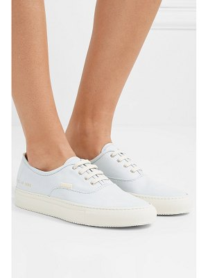 Common Projects four hole nubuck sneakers - off-white