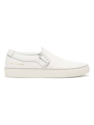 Common Projects Leather Slip On Trainers