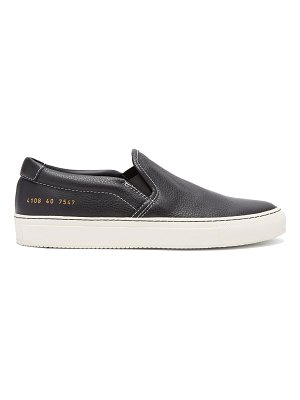 Common Projects Leather slip-on trainers