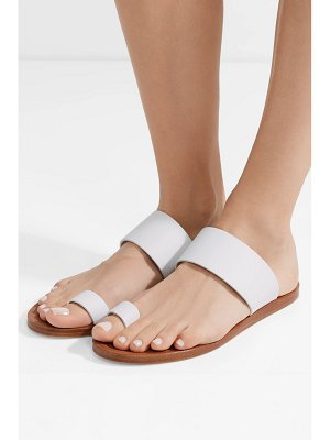 Common Projects minimalist leather sandals