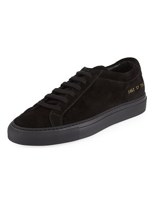 Common Projects Original Achilles Low-Top Suede Sneakers