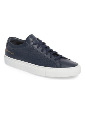 Common Projects original achilles perforated low sneaker
