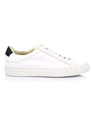 Common Projects retro leather low-top sneakers