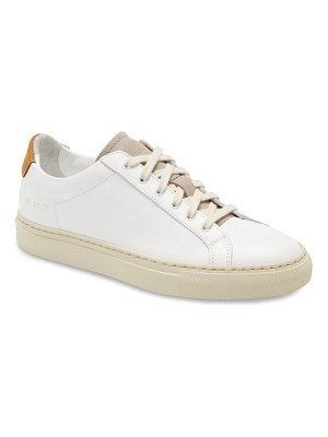 Common Projects retro low special edition sneaker