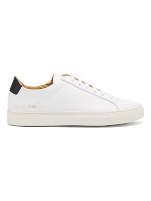 Common Projects Retro Low Top Leather Trainers