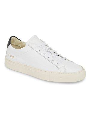 Common Projects retro low top sneaker