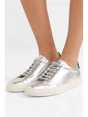 Common Projects retro metallic leather sneakers