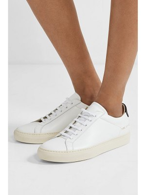 Common Projects retro two-tone leather sneakers