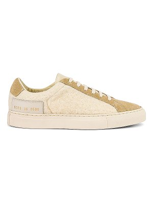 Common Projects retro wool sneaker