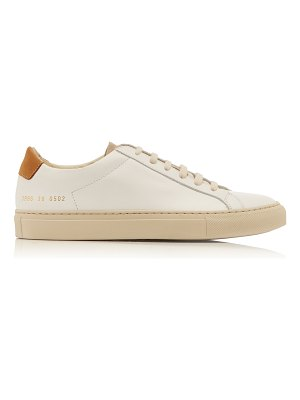 Common Projects special edition retro low nubuck and suede sneakers si