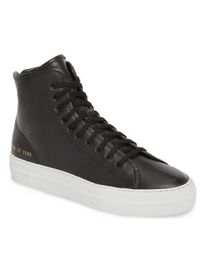 Common Projects tournament high super sneaker