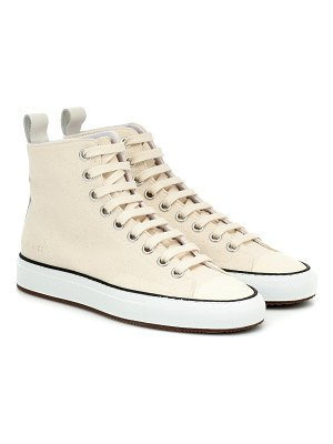 Common Projects tournament high-top canvas sneakers