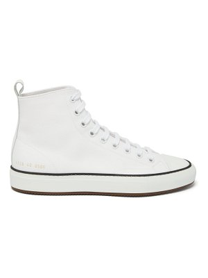 Common Projects tournament high-top canvas trainers