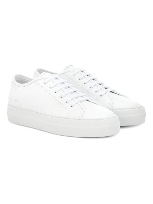 Common Projects tournament low leather sneakers