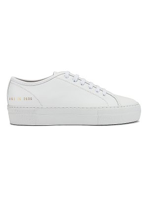 Common Projects tournament low super sneaker