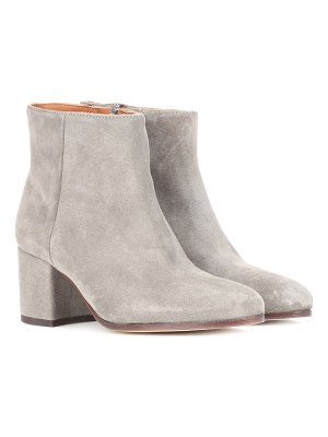 Common Projects Zip suede ankle boots