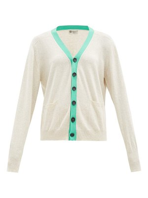 CONNOLLY art colour-block cotton cardigan