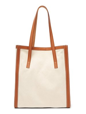 CONNOLLY canvas and leather tote bag