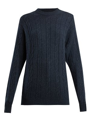 CONNOLLY Clarke cable-knit cashmere sweater