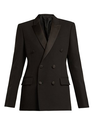 CONNOLLY double breasted crepe tuxedo jacket