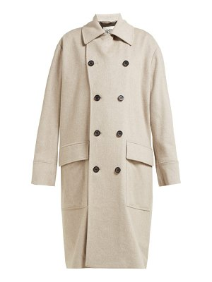 CONNOLLY double breasted wool coat