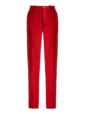 CONNOLLY High Rise Crepe Trousers
