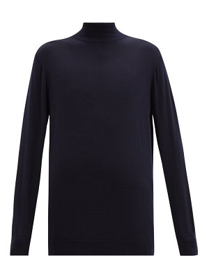 CONNOLLY longline stand-neck wool sweater
