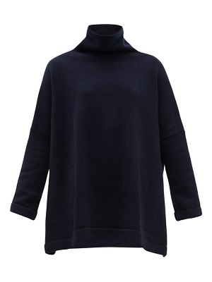 CONNOLLY roll neck cashmere sweater